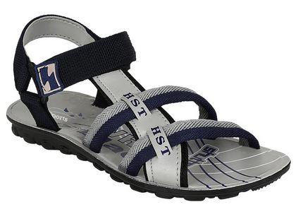 SnapDeal : Oricum Footwear Gray Floater Sandal For Men