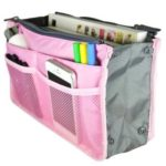 Packnbuy Multipurpose Hand Bag Organizer, Pink