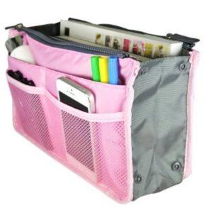 Packnbuy Multipurpose Hand Bag Organizer, Pink