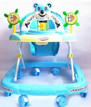 Panda Baby Walker - Blue