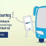 Get 10% (upto Rs 500) Cashback on bus ticket bookings from PayTM