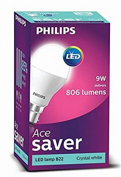 Philips 9-Watt Base B22 LED Bulb (Cool Day Light)