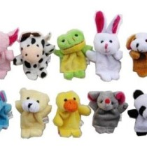 Phoenix Finger Puppets Set Of 10 - 3.5 inch