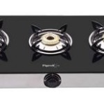 Snapdeal : Pigeon 3 Burner Glass Top Gas Stove Favorite