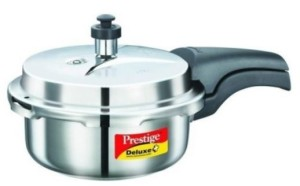 Prestige 2 L Pressure Cooker(Induction Bottom, Stainless Steel)