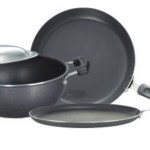 Buy Flipkart Offer : Prestige Omega Select Plus BYK Non Stick Pan, Tawa, Kadhai Set