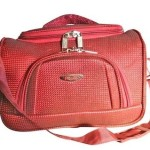 Pride Beauty with Folding Compartments Storing Make Up Items Vanity Case (Maroon) Price: Rs. 499