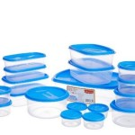 Princeware SF Tal Pak Container Set, 18-Pieces, Blue