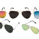 PayTM : Rico Sordi Multi Pack Of 5 Aviators Sunglasses