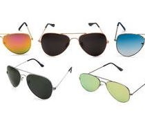 Rico Sordi Multi Pack Of 5 Aviators Sunglasses