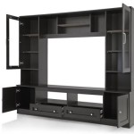 Royal Oak Engineered Wood Entertainment Unit (Finish Color – Dark) Price: Rs. 13,750