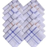 Flipkart.Com : S4S Men's Striped Handkerchief (Pack of 12) Price: Rs. 249