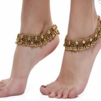 ShinningDiva Ethnic Pair of Anklet