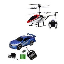 Smartkshop Combo Of Remote Controlled Car And Helicopter