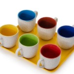 Pepperfry offer : Somny Tea Cups With Tray @ Rs 179