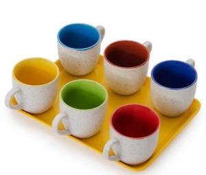 Somny Tea Cups With Tray