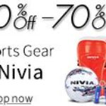 Buy Amazon.in Offer Nivia Diwali Offer : 30%-70% discount on Sports,Fitness & Outdoor equipment