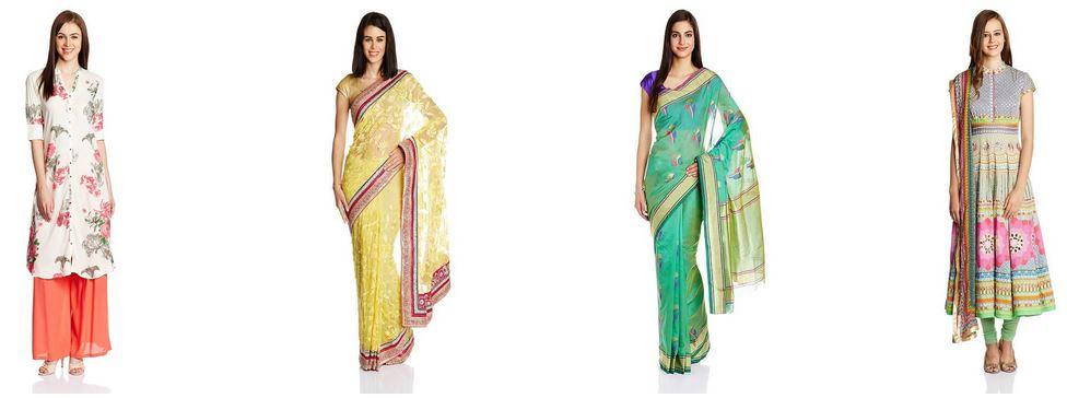 Buy Amazon india offering Top picks in ethnic wear online