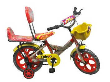 Taboo Red And Yellow Kids Cycle