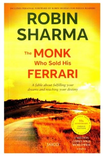 The Monk Who Sold His Ferrari English Paperback Price