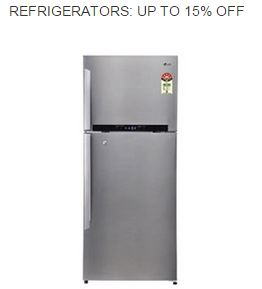 UP TO 15 OFF Refrigerators online