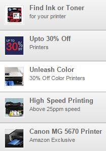 Upto 30 Off on Printers