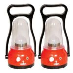 Buy SnapDeal Offer Urjja 12 LED New Moon Red 2Pcs. rechargeable emergency light @ Rs 629