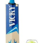 Buy Amazon.in Offer Vicky Supreme Cricket Bat with 3 Light Weight Ball, Short Handle @ Rs 629