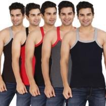 Wyatt ML-5 Men's Vest(Pack of 5)
