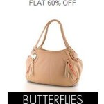 Buy Amazon Flat 60 percent off or more on Butterflies Handbags & Clutches online