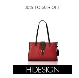 Buy Amazon flat 30% off or more on Hidesign Handbags & Clutches online