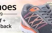 PayTM : Min 30% Cashback on the men/women footwear
