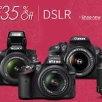 Buy Amazon india offering Digital SLRs Camera's upto 35% Discounts online