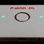 AIRTEL 4G-LTE WIFI DATA CARD (WHITE) @ Rs 2399