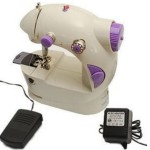 Accedre Mini Electric Sewing Machine With Battery / Electricity Power mode and Pedal @ Rs 1099