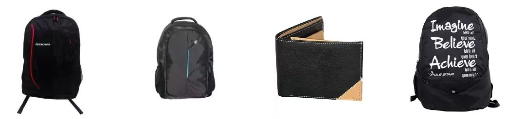 Amazon India UP TO 50% OFF or more on Bags, Wallets and Luggage