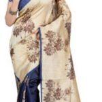 Anju Sarees Printed Bhagalpuri Silk Sari @ Rs 499
