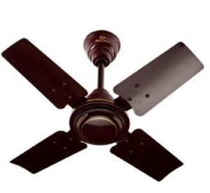 Bajaj Maxima 63-Watt Ceiling Fan (Brown)