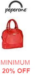 Buy Peperone Handbags Online @ Best Price today minimum 20% off