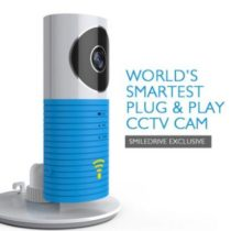 CLEVERDOG WORLD'S SMARTEST PLUG & PLAY WIRELESS WIFI IP P2P CCTV CAMERA - SMILEDRIVE EXCLUSIVE!