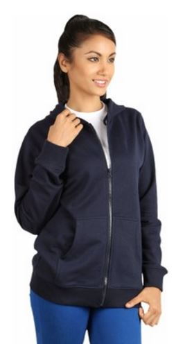 Campus Sutra Full Sleeve Solid Women's Sweatshirt @ Rs 599