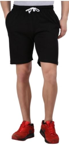 Checker S Bay Solid Men's Sports Shorts @ Rs. 268