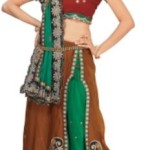 Chirag Sarees Self Design Lehenga Saree Synthetic Sari @ Rs 1214