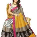 Click Sarees Printed Mysore Art Silk Sari @ Rs 335