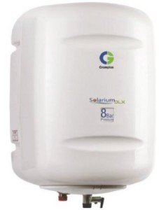 Crompton Greaves Solarium DLX SWH815 15-Litre Storage Water Heater (Ivory)