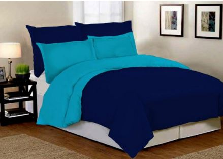 Desirica Premium Soft and Light Weight Microfibre Reversible Double Comforter