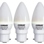 Eveready 0.5 W LED Combo Pack Bulb (White, Pack of 3) Price: Rs. 149