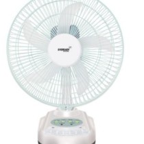 Eveready 10 Inch Rechargeable Table Fan with LED Light RF-04