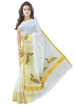 Self Design Balarampuram Handloom Cotton Saree @ Rs 999