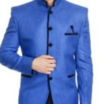 Festive Wintage Blue Summer Blazer